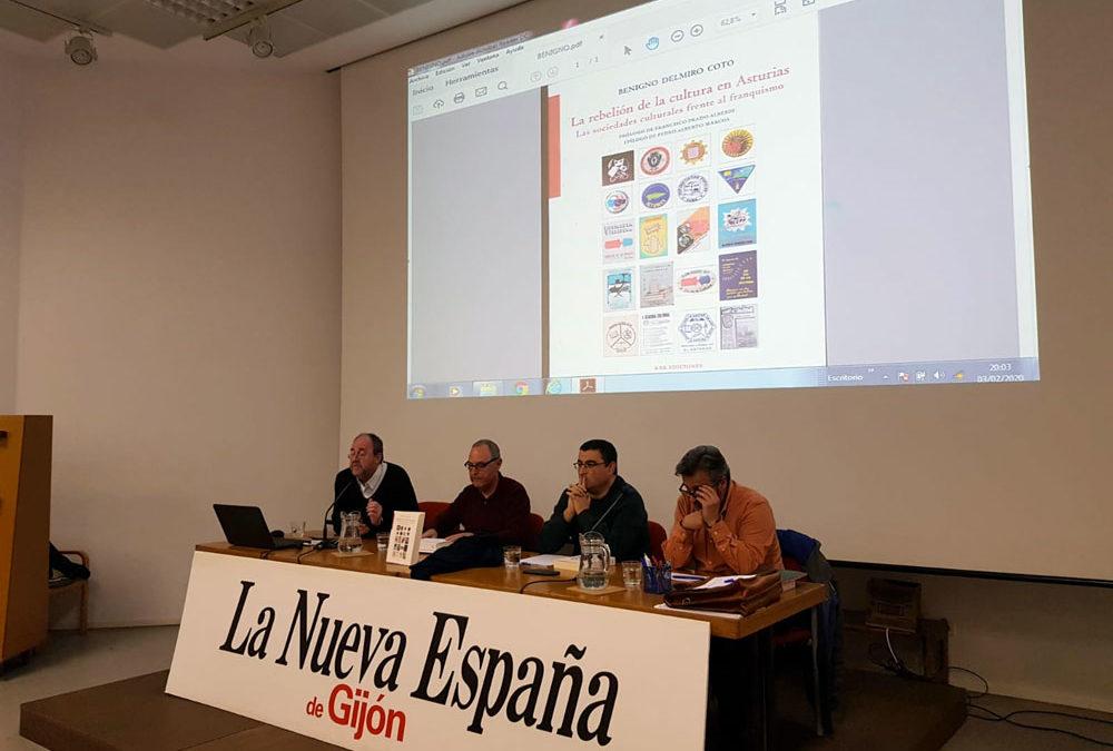 """La Cultural en la presentación del libro  """"La rebelión de la cultura en Asturias"""""""