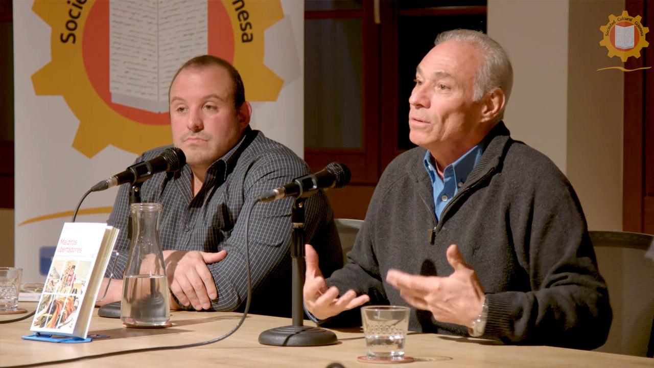 """Presentación del libro """"Malditos Libertadores"""" de Augusto Zamora"""