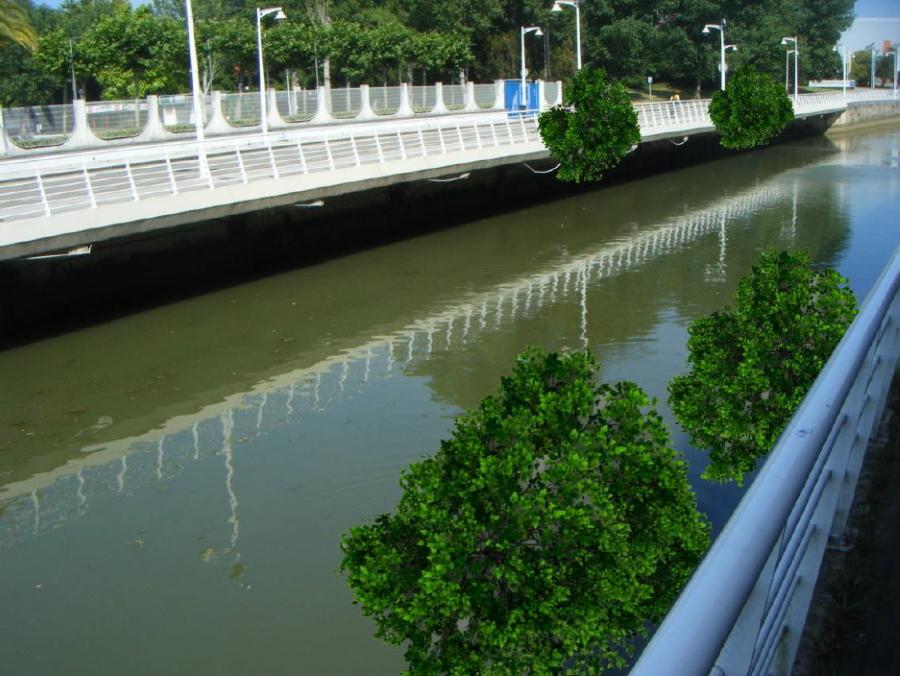 Río Piles de Xixon