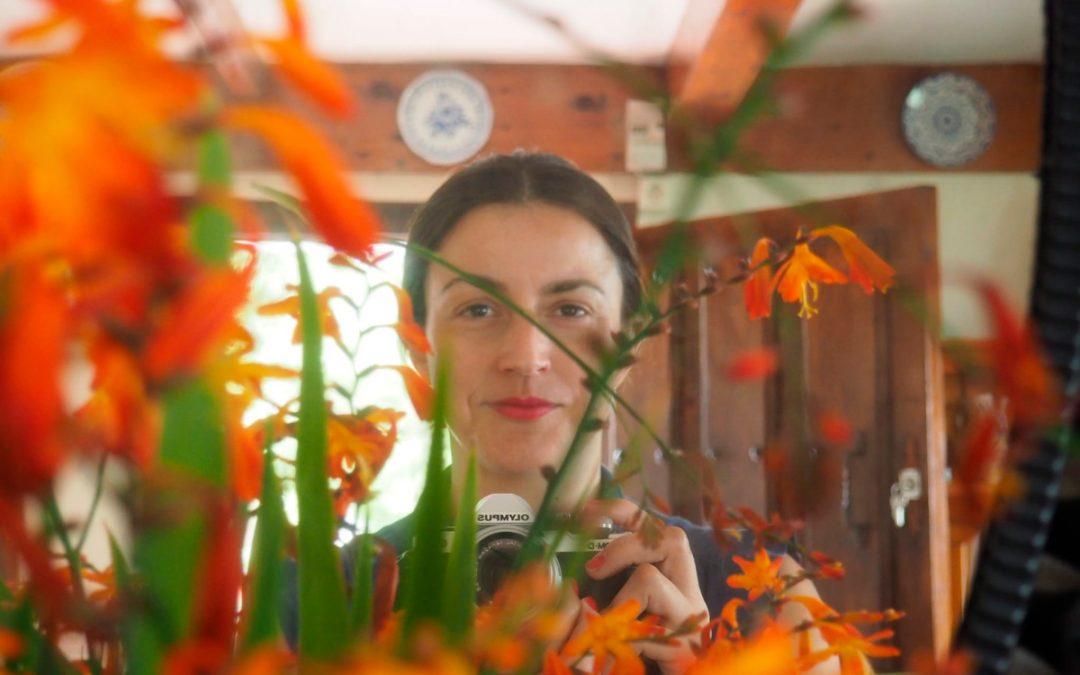 Iris Díaz Trancho, maestra y escritora