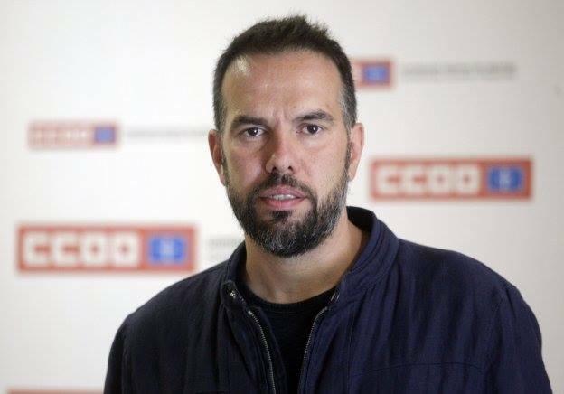 José Manuel Zapico, Secretario general de CCOO de Asturias