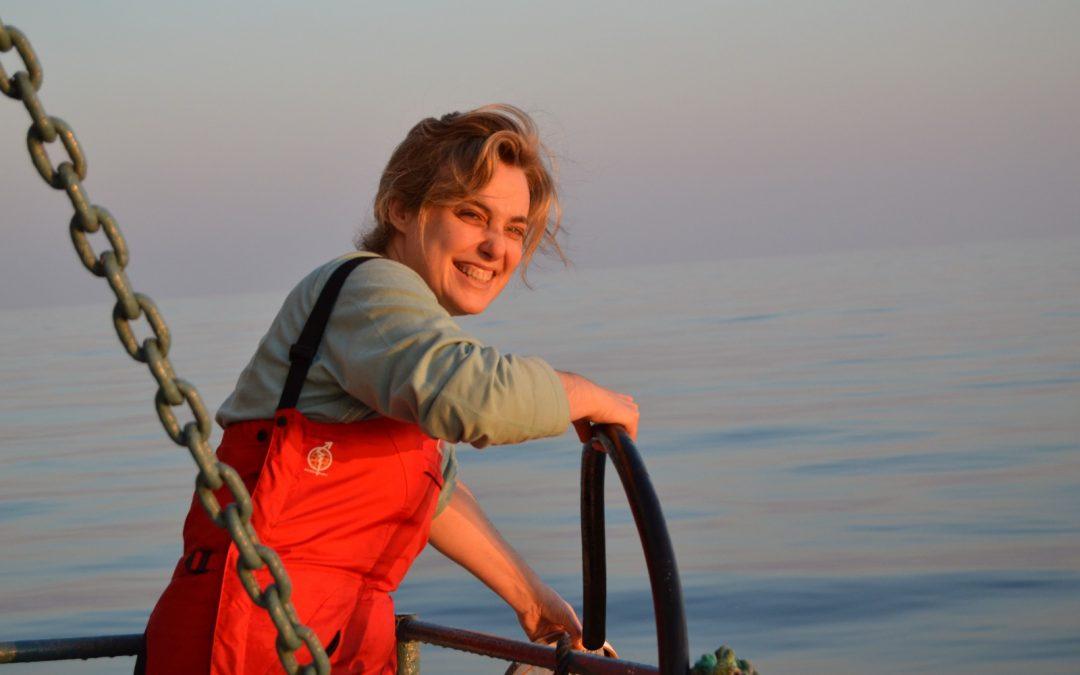 Alma Hernández de Rojas, Investigadora del Instituto Español de Oceanografía