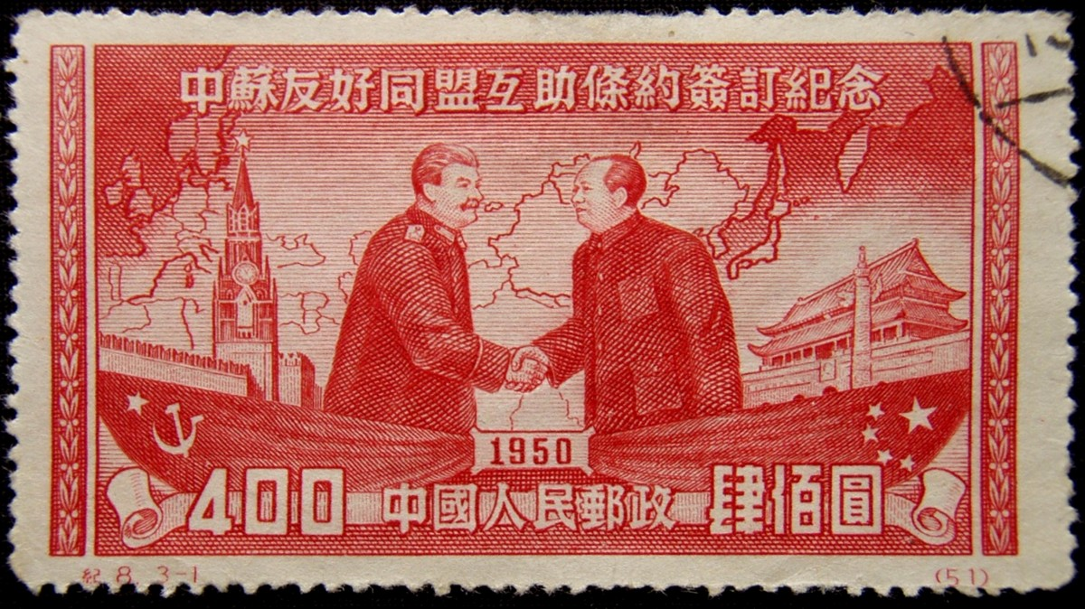Mao y Stalin
