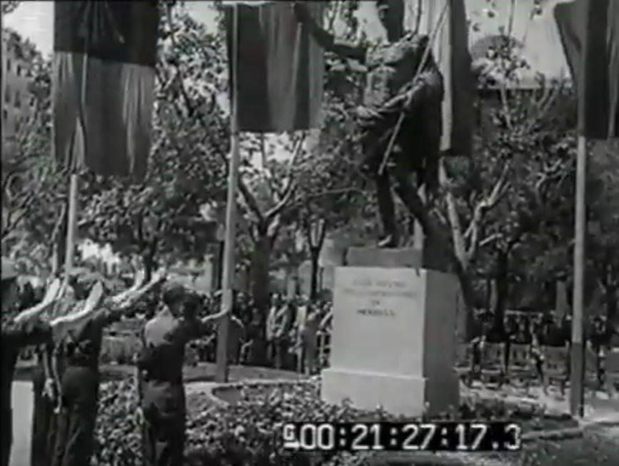 Augusto fascismo en Gijón - Xixón