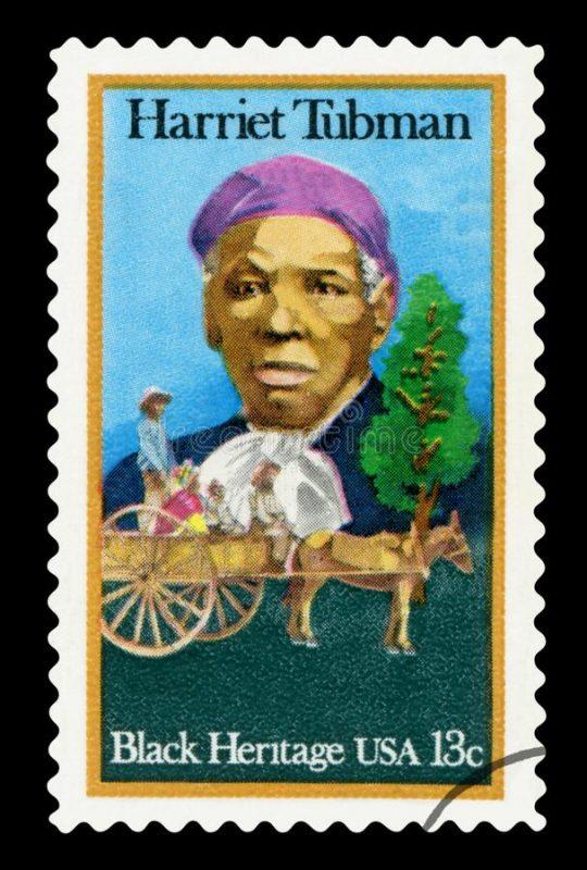sello postal de EEUU de Harriet-Tubman