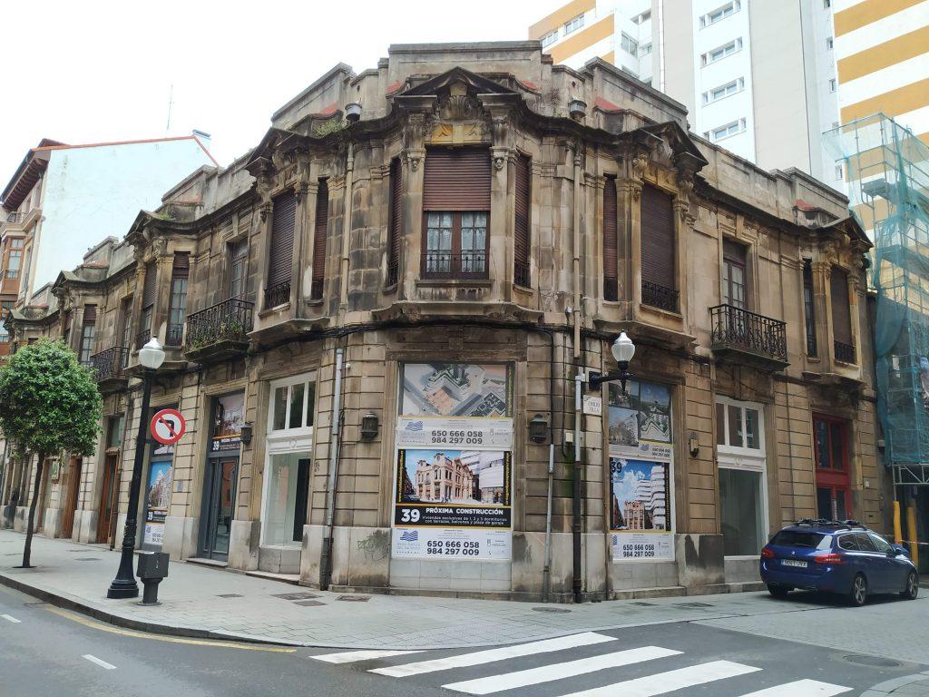palacete de Gaspar Díaz Valdés-Hevia