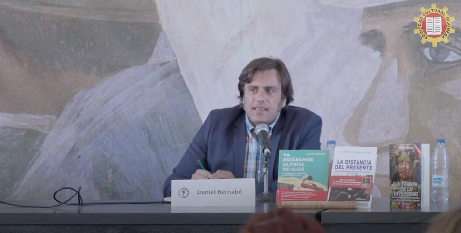 Daniel Bernabé en Xixón / Gijón