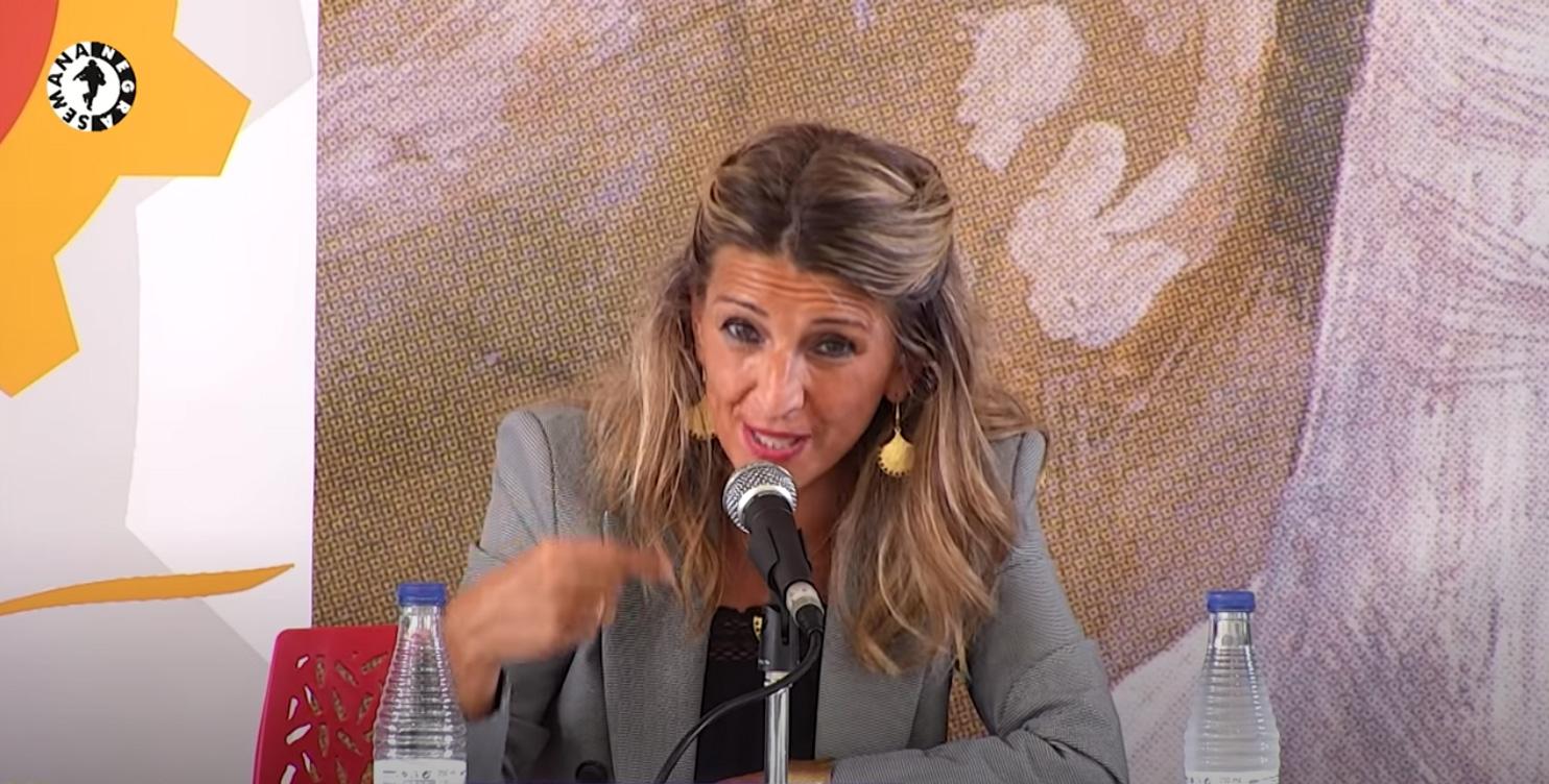 Yolanda Díaz en Gijón / Xixón