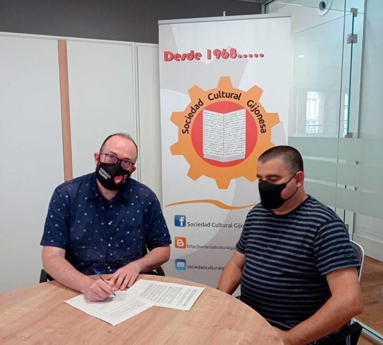 La Sociedad Cultural Gijonesa y el FICX firman un acuerdo de colaboración.
