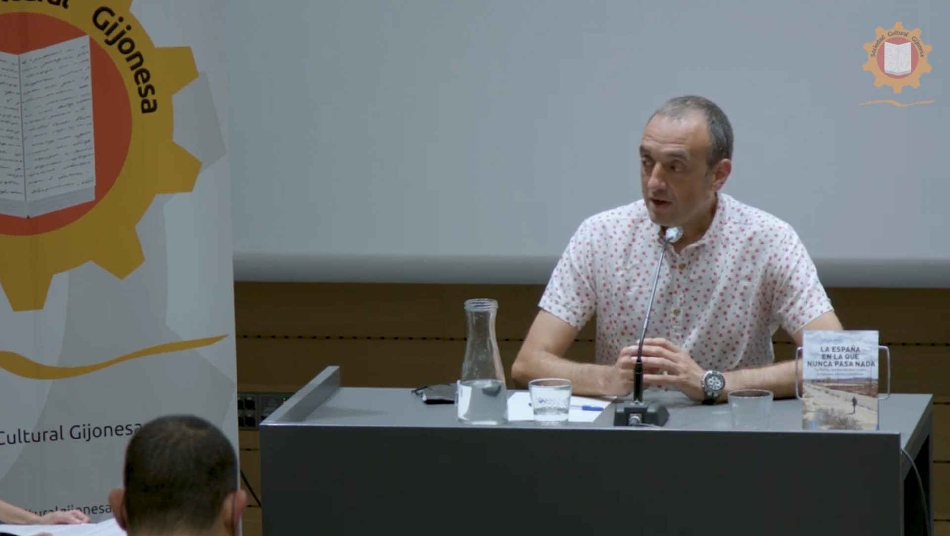 Presentación de Sergio Andrés Cabello